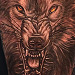 Tattoo-Books - Wolf Tattoo  - 75983
