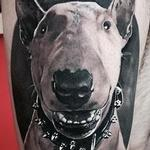 Dog Portrait Tattoo Tattoo Design Thumbnail