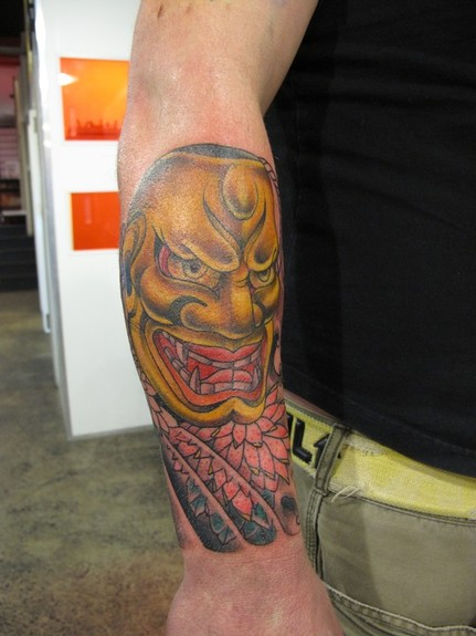 tattoos/ - Asian Mask tattoo - 52495
