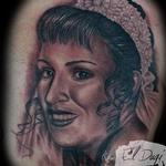 Mothers portrait  Tattoo Design Thumbnail