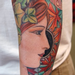 Realistic Woman Tattoo Tattoo Design Thumbnail