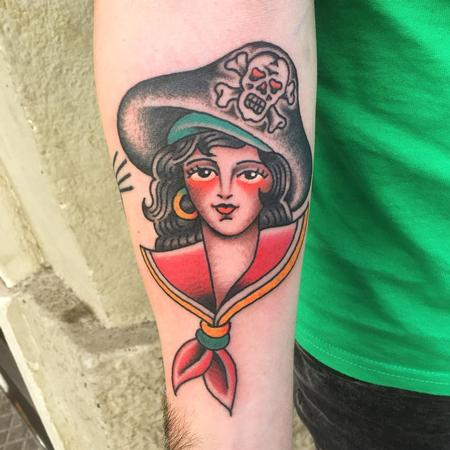 tattoos/ - Chica pirata - 132072