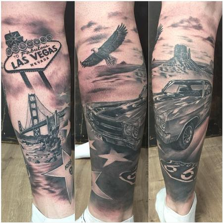 tattoos/ - Route 66 tribute - 133454