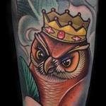 Queen Owl Tattoo Design Thumbnail