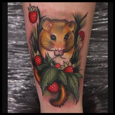 tattoos/ - field mouse - 91212