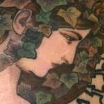 tattoos/ - Alphonse Mucha Art Nouveau Tattoo - 121748