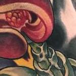 Alien Flower Tattoo Design Thumbnail