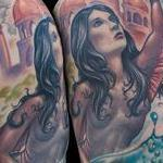 Mermaid Tattoo Thumbnail