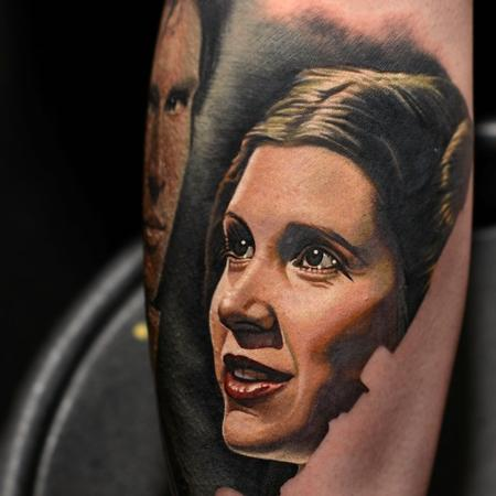 tattoos/ - Princess Leia Tattoo - 104584