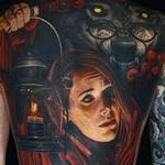Little Red Riding Hood Tattoo Thumbnail