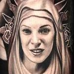 Tattoo-Books - Virgin Mary Tattoo - 112148