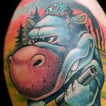Wasteland Warrior Tattoo Design Thumbnail