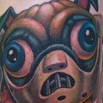 Hannibal Lecter Pug Tattoo Design Thumbnail