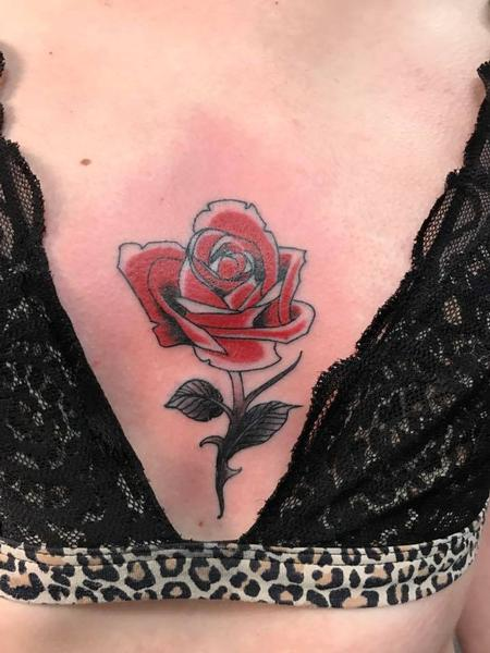 Tattoos - Rose - 128078