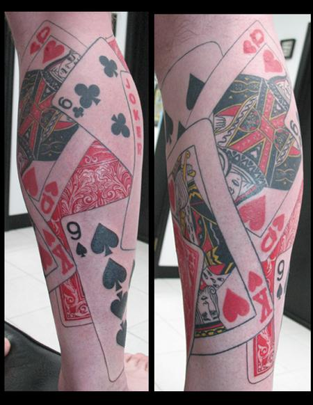Tattoos - card sock pt 2 - 59459