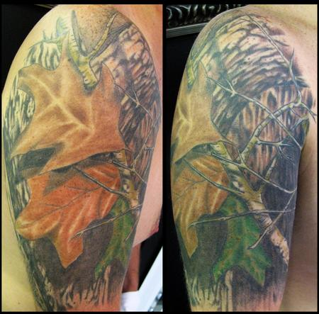 Tattoos - mossy oak - 59188