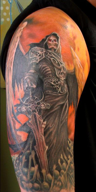Tattoos - reaper tattoo - 60917
