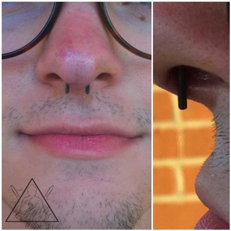 Tattoos - Septum piercing - 100894