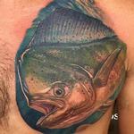 Mahi-mahi Tattoo Design Thumbnail