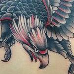 Traditional Eagle Tattoo Design Thumbnail