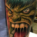 Angry Hulk Tattoo Design Thumbnail
