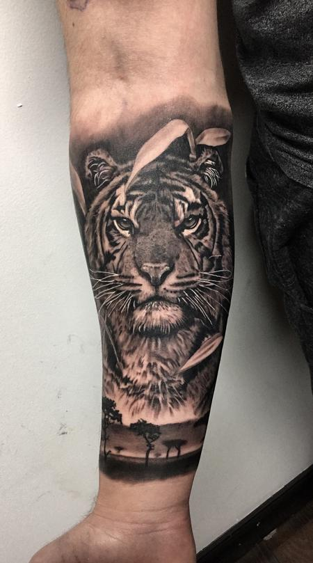 tattoos/ - Tiger - 131716