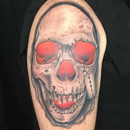 tattoos/ - SKULL GLOW - 134761
