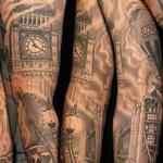 London in my heart Tattoo Thumbnail