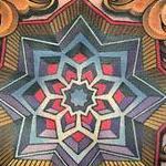 Tattoo-Books - Geometric Mandala on Chest - 125442