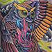 Tattoo-Books - Owl Clutching Heart - 28618