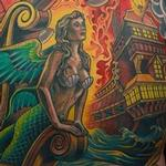 Tattoo-Books - Sea Battle Backpiece - 128062