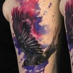 Crow Tattoo Design Thumbnail