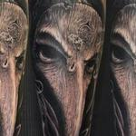 Woodenmask Tattoo Design Thumbnail