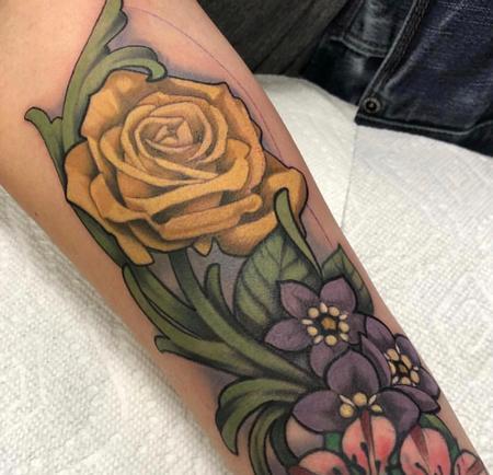 tattoos/ - Illustrative Floral - 132651