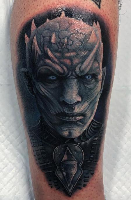 tattoos/ - Night King Portrait - 133195