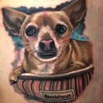 Puppy Portrait Tattoo Design Thumbnail