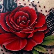 Abstract Rose Tattoo Tattoo Design Thumbnail