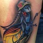 Colorful Firefly Tattoo Tattoo Design Thumbnail