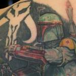 boba fett star wars tattoo Tattoo Design Thumbnail