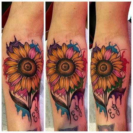 tattoos/ - Sun flower - 132797
