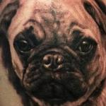 PUG LIFE Tattoo Design Thumbnail