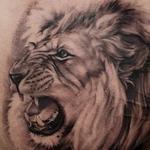 Lion Around Tattoo Design Thumbnail