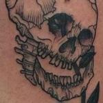 skull n olivo Tattoo Design Thumbnail