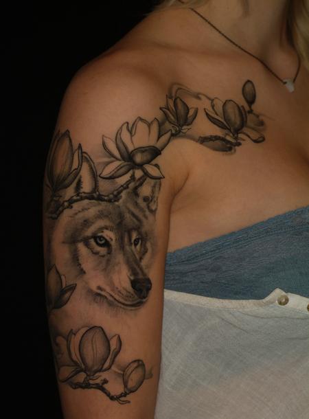 tattoos/ - Wolf Sleeve - 109279