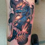 FOO DOG Tattoo Design Thumbnail