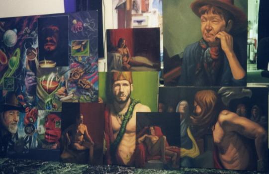 Art Galleries - oil paintings dan plumley  - 18257