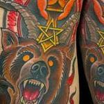 devil bear Tattoo Design Thumbnail