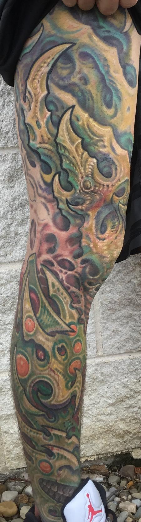 tattoos/ - Biomech leg sleeve - 122407