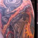 Robotic tattoo Tattoo Design Thumbnail