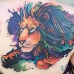 Lion cover up  Tattoo Design Thumbnail